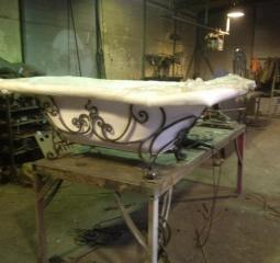 Завод по производству металлической мебели