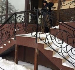Изготовление лестниц из нержавейки